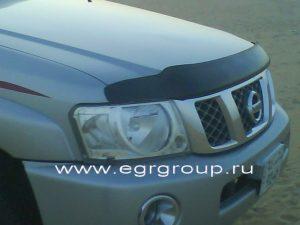 Купить дефлектор капота Nissan Patrol 2004-2010 в Минске