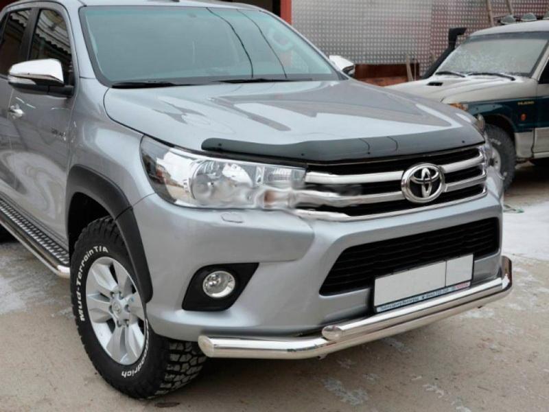 Купить дефлектор капота Toyota Hilux 2015 в Минске