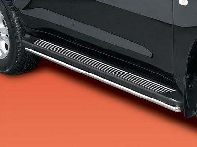 Накладки на подножки для Toyota Land Сruiser 200