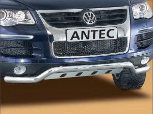 Защита переднего спойлера для VW Touareg 2002-