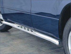 Пороги круглые для Suzuki Grand Vitara