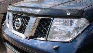 Дефлектор капота для Nissan Navara / Pathfinder 2010