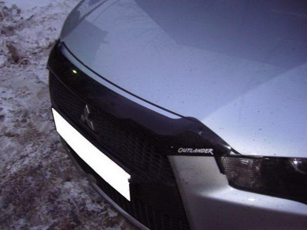 Дефлектор капота для Mitsubishi Outlander 2010-
