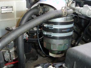 Подогреватель дизельного топлива бандажный Номакон ПБ-103
