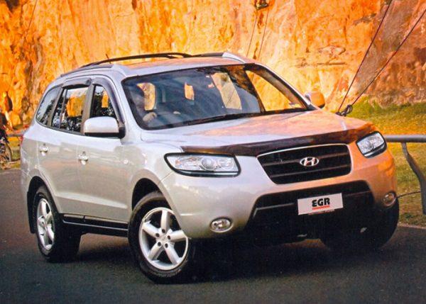 Купить дефлекторы EGR капота и боковых окон для Hyundai Santa Fe