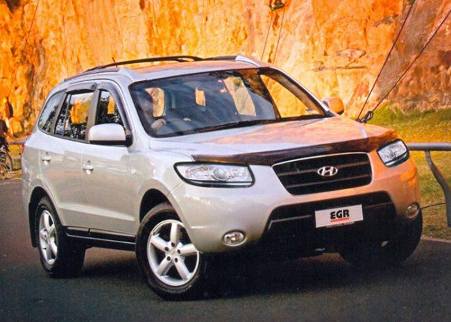 Дефлекторы EGR Hyundai Santa Fe