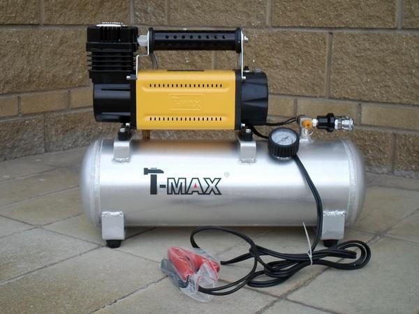 Компрессор T-max 160 л/мин с рессивером 10 л