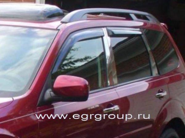 Дефлекторы боковых окон Subaru Forester 2008-2012