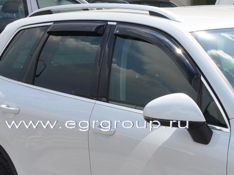 Дефлекторы боковых окон для VW Touareg 2011-2018