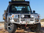 Силовой бампер ARB для Toyota Land Cruiser 70 c 2007