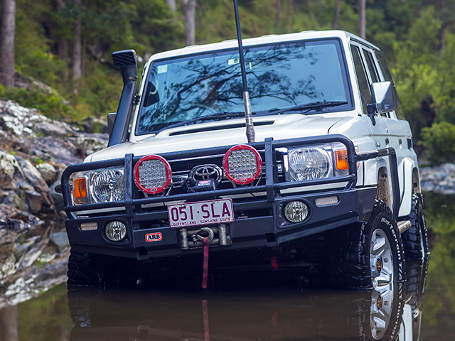 Силовой бампер ARB для Toyota Land Cruiser 70 2007-
