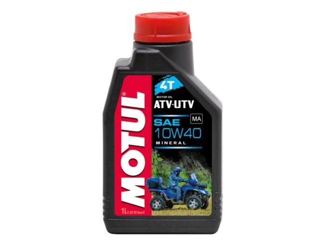 Масло минеральное Motul ATV-UTV 10W40 4T для квадроцикла