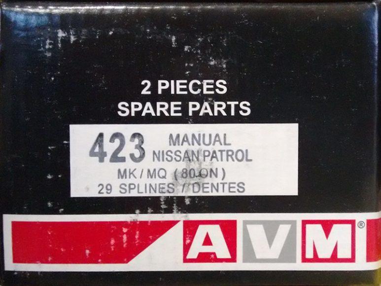 Комплект подключения переднего моста AVM423 для Nissan