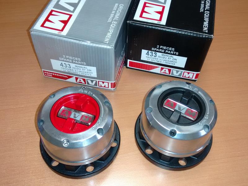Купить хабы колесные AVM433 / AVM433HP
