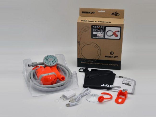 Купить автономный мини-душ Berkut Smart Washer SW-X1 в Минске