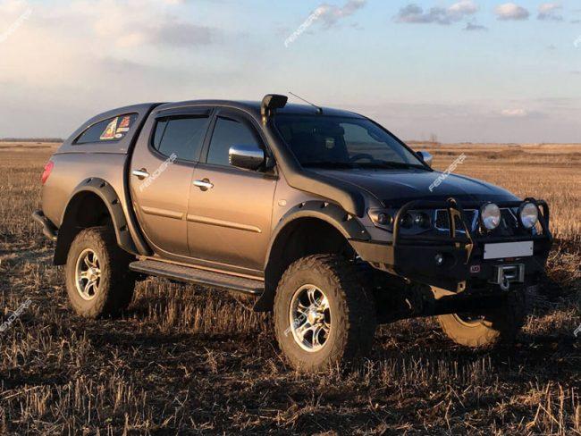 Расширители колесных арок Fenders ТКМ-200 на Mitsubishi L200 купить в Минске