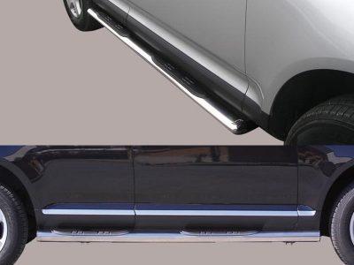 Подножки овальные для VW Touareg 2002-