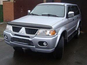 Купить дефлектор капота для Mitsubishi Pajero / Montero Sport 2000-