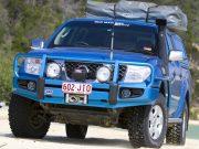 Силовой бампер ARB Deluxe для Nissan Navara
