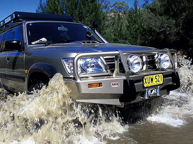 Силовой бампер ARB Deluxe Nissan Patrol 1998 г.в.