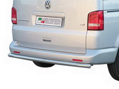 Защита заднего бампера для VW T5/ Transporter/ Multivan 2003-