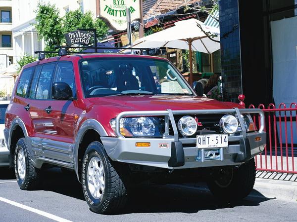 Усиленная подвеска OME для Mitsubishi Pajero 2000-
