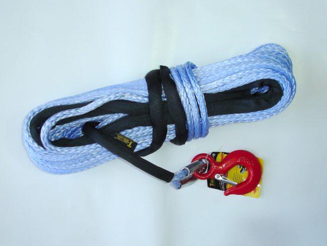 T-max трос синтетический 10 мм х 28 м для лебедки