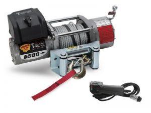 Лебедка T-max EW-6500 OFF-ROAD с пультом управления купить минск