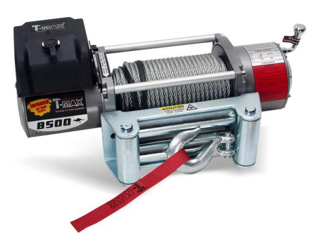 Лебедка T-max EW-8500 OFF-ROAD