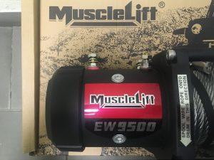 Лебедка автомобильная электрическая T-max Musclelift EW-9500