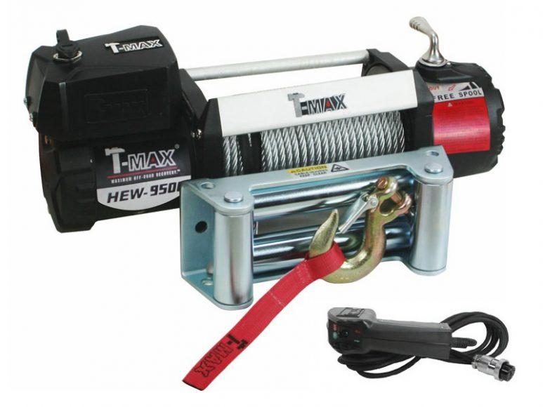 Купить лебедку T-max HEW-9500 X Power с пультом управления
