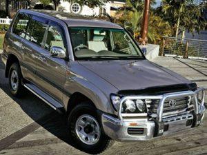 Дефлекторы боковых окон и капота для Toyota Land Cruiser 100