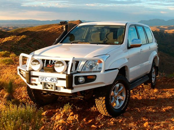 Силовой бампер ARB Deluxe для Toyota Land Cruiser 120