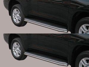 Защитная боковая труба для Toyota Land Cruiser 150 Prado