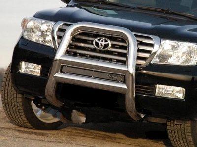 Защита переднего бампера Toyota Land Cruiser 200 2008- | Купить Минск