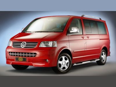 Подножки для VW T5/ Transporter/ Multivan 2003-