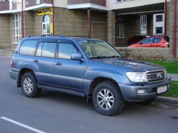 Релинги для Toyota Land Cruiser 100