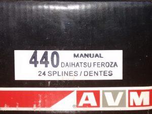 Комплект подключения переднего моста AVM440 для Daihatsu Feroza