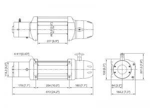 Лебедка ComeUp Seal Gen2 12.5
