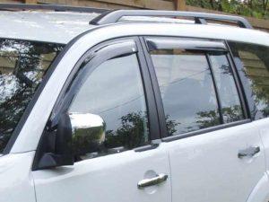 Дефлекторы боковых окон EGR для Mitsubishi Pajero Sport 2009-