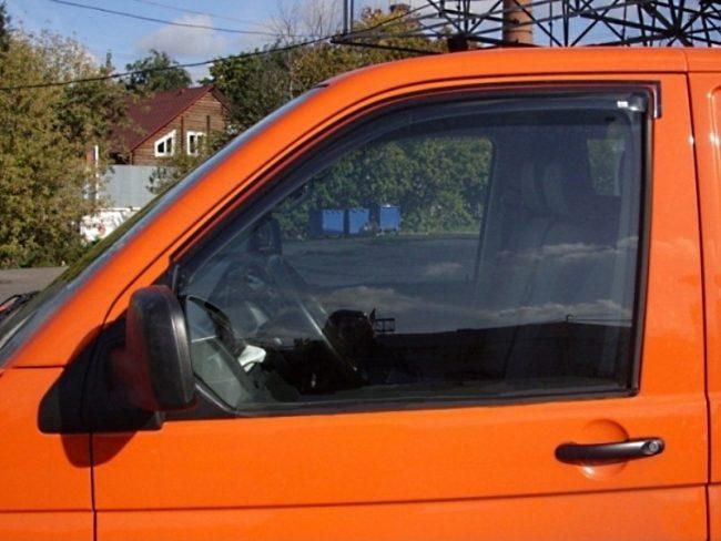 Дефлекторы боковых окон EGR для Volkswagen T5