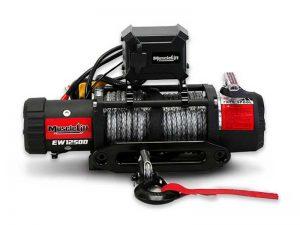 Купить лебедку T-max Musclelift EW-12500 с синтетическим тросом