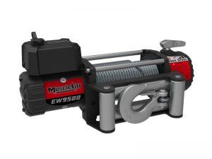 Купить лебедку электрическую 12В T-max Musclelift EW-9500
